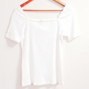 Ann Taylor Spring Ivory Sweater